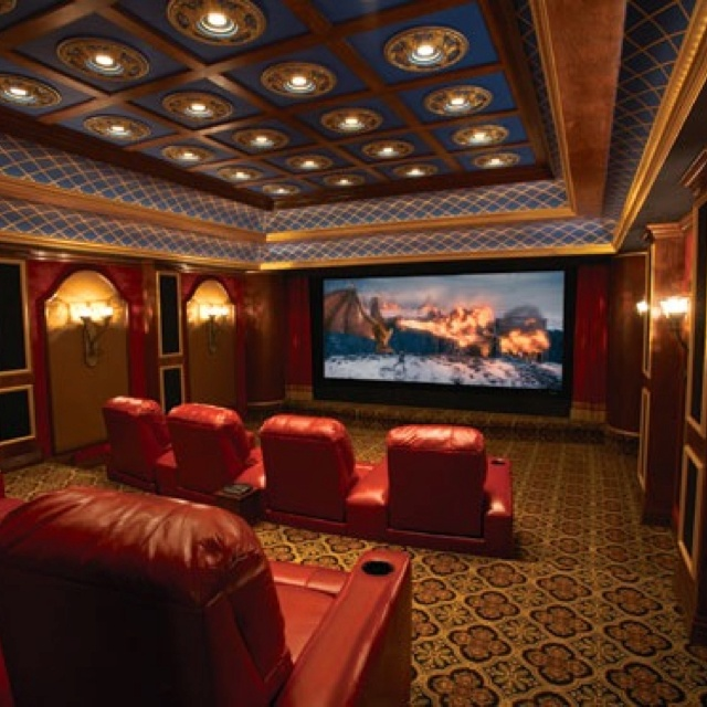 Movie Room  Movie Theater Design Ideas