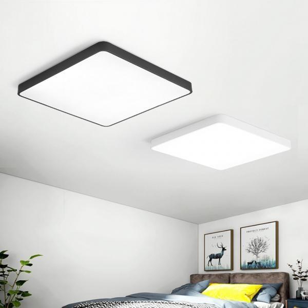 24w Square Led Ceiling Down White Light Panel Wall Bathroom Lamp Fixture 40 40cm Led Ceiling Led Ceiling Lights Light Panel