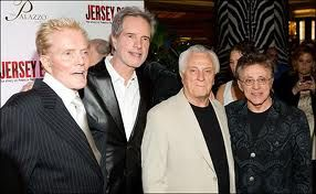 Bob Crewe, Bob Gaudio, Tommy DeVito and Frankie Valli