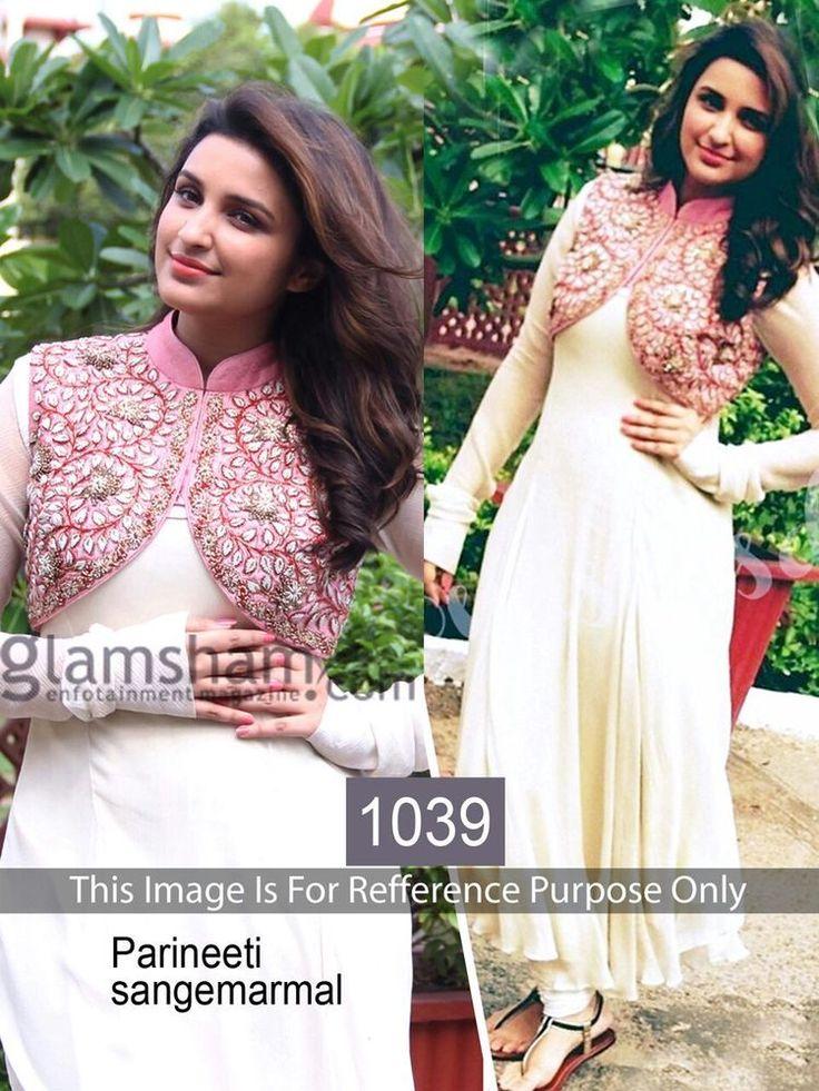 Party Dress Pakistani Designer Salwar Kameez Indian Replica Bollywood Anarkali  #DivyaEmporio #AnarkaliSalwarKameez