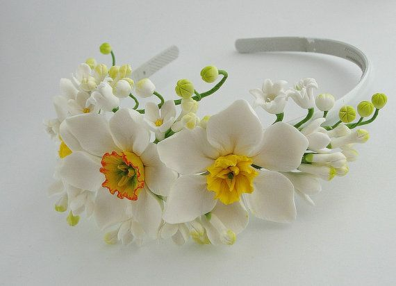 bridal hair accessories wedding headpiece от FlowerFromEugene