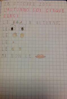 Percorso di scienze in classe prima che si snoda all'interno di un nucleo tematico ben definito: l'autunno in relazione ai cinque sensi. Periodo di riferimento: Ottobre-Novembre Organizzazione del …
