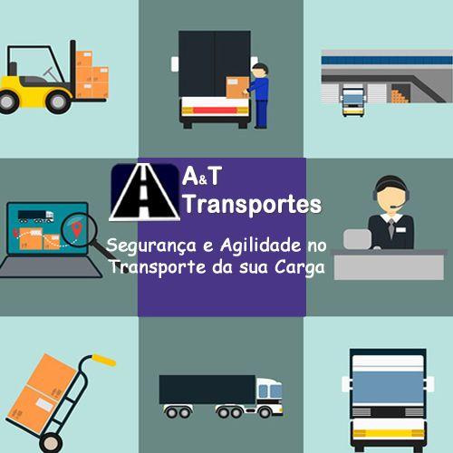 Segurança e Agilidade no Transporte da Sua Carga. é A&T Transportes!