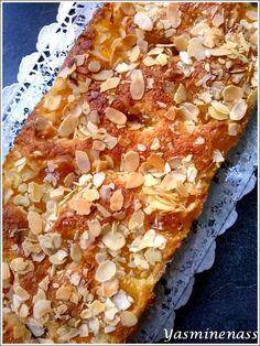Salam alyakoum/bonjour, On peut dire que ce gâteau a eu beaucoup de succès, il en restait pas une seule miette après le goûter, un vrai délice que ces diverses associations, un bonheur en bouche qu'il me tarde de refaire au plus vite. L'alliance de l'amande...