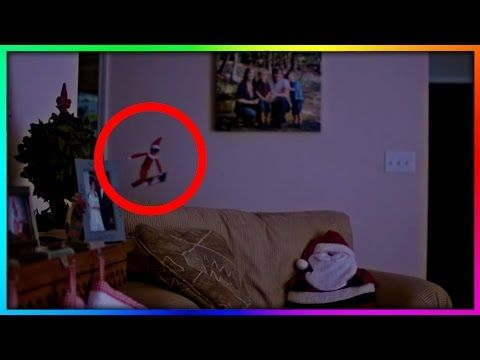 Elf On A Shelf Caught On Moving On Camera Real Elf On