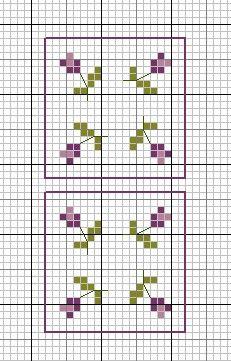 Иголкин уголок / The Needle Nook: Схема домика/ The House Patterns