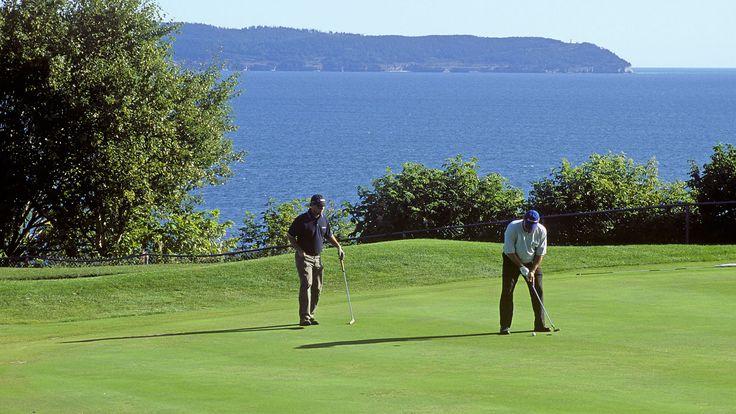 Golf. Photo : François Rivard.