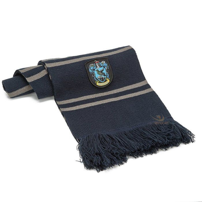 Harry Potter Ravenclaw Scarf - Midnight Blue and Grey 8th