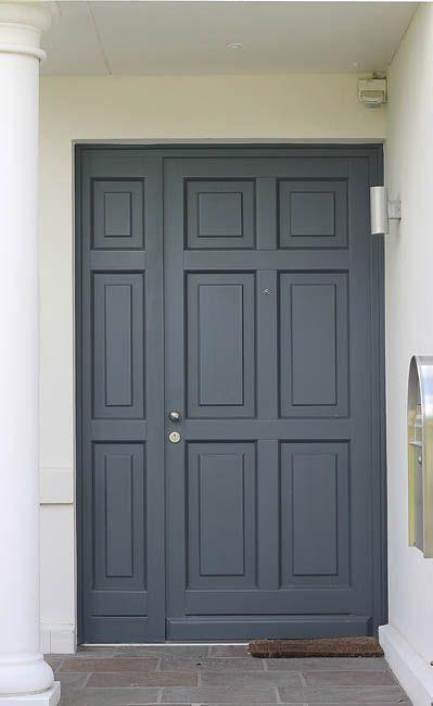 Haustür modern mit seitenteil  Die 25+ besten Haustür mit seitenteil Ideen auf Pinterest ...