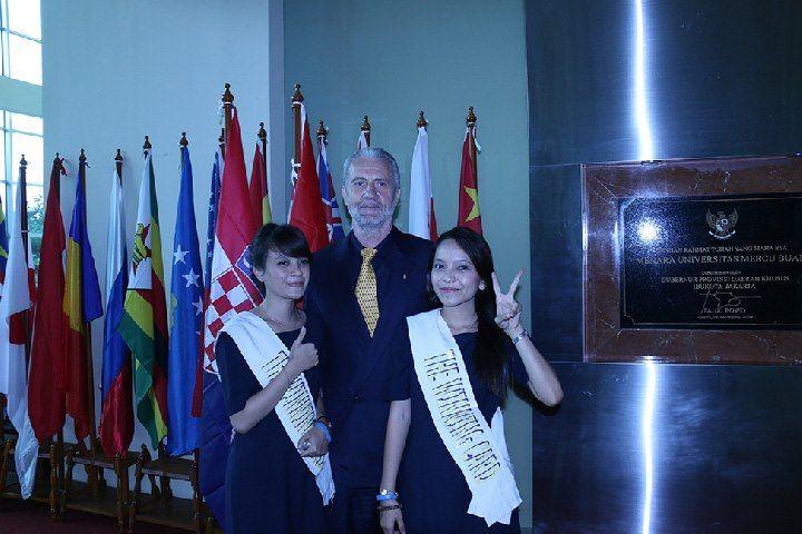 Event NESU Smart Phone Card Indonesia@ Universitas Mercu Buana Jakarta