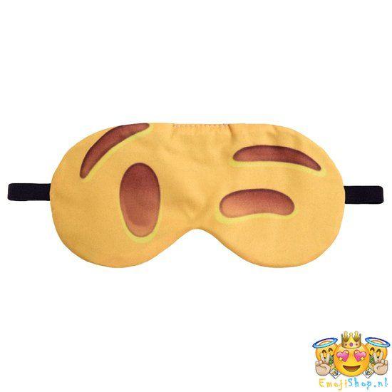 Wink Emoji Slaapmasker