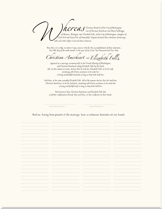 36 best marriage contract images on Pinterest Wedding certificate - marriage contract