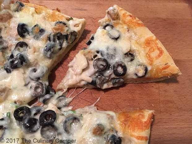 Grilled Chicken Spiedie Pizza