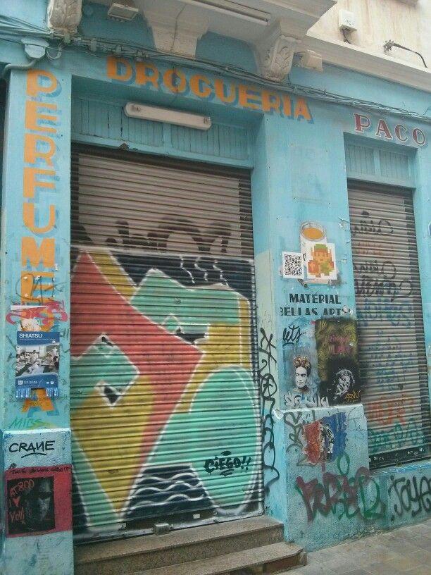 Droguería Paco, Benimaclet, Valencia.