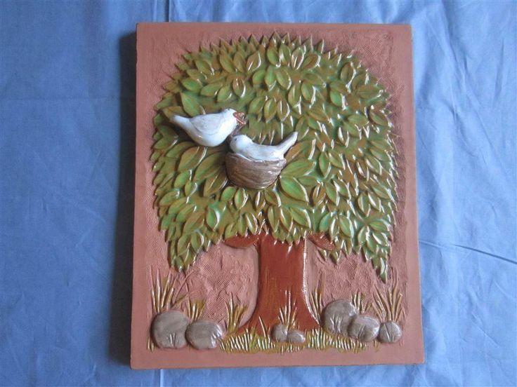 Keramiktavla, Aimo/Jie Gantofta! på Tradera.com - JIE, Gantofta -