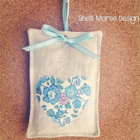 Liberty Love Lavender Sachet | Shelli Morse Design | madeit.com.au