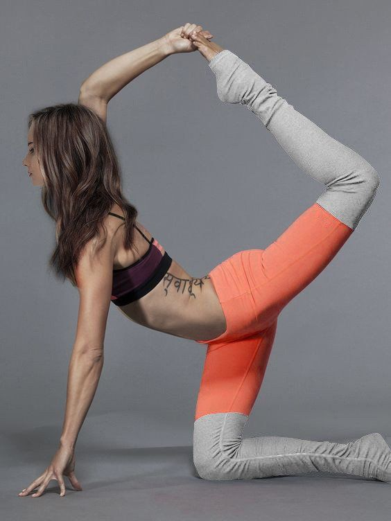 Ribbed Yoga Leggings With Gray - Rebel Style Shop - 2