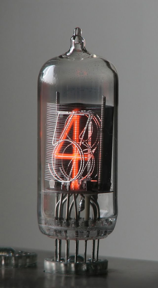 Nixie tube #type #tube #typedesign