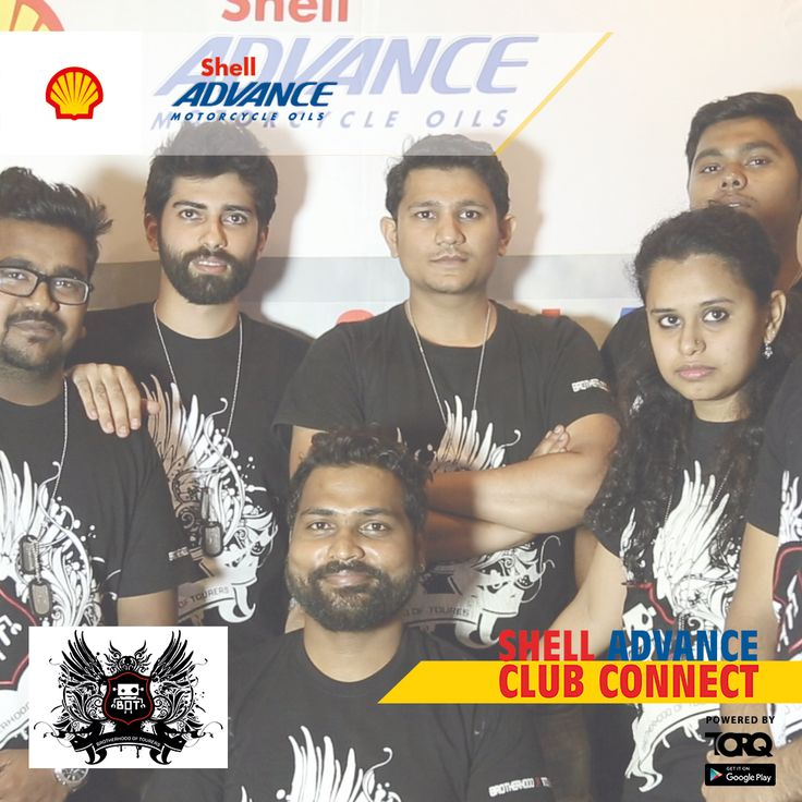 Shell Advance club connect powered by TORQ is experiencing biking passion and a warm welcome from B.O.T. (Brotherhood of Tourers)..! #TheWinningIngredient #TORQ #TorqRiderApp #bikerlife