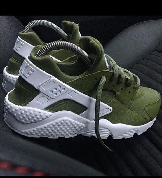 There are 7 tips to buy these shoes: nike huarache nike nike hurraches  olive green khaki sneakers harruches green cute sporty adidas white  harruaches ...