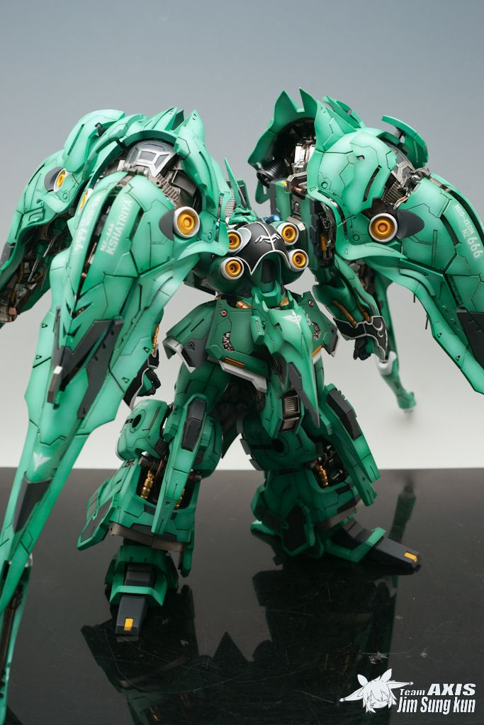 MERSA 1/100 NZ666 Kshatriya [Full Resin Kit] Painted