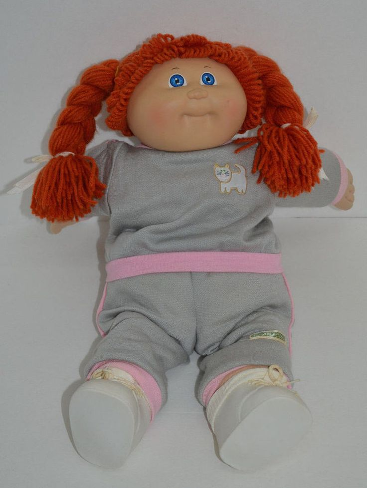 Details About Cpk Cabbage Patch Kids 17 Quot Girl Doll Brown