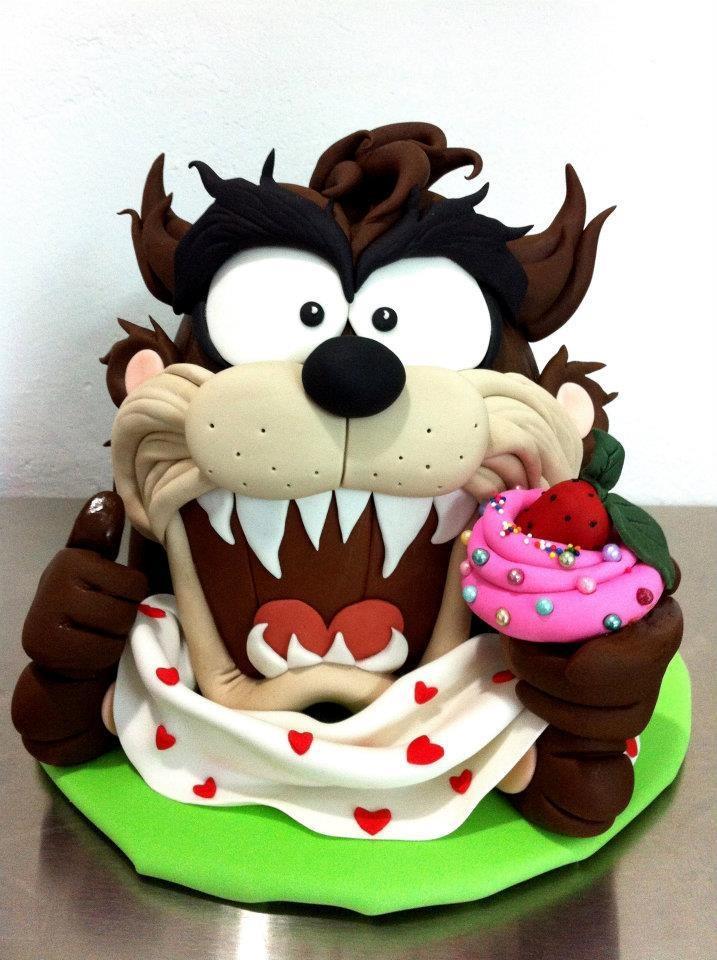Looney Tunes Cake Topper