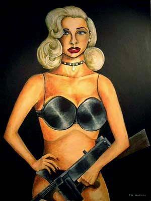 Joe Machine, Diana Dors with a Machine Gun - Joe Machine — Wikipédia