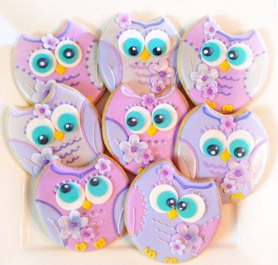 Este listado está para 12 galletas de azúcar vegano buho. Estos búhos alegres están seguros de recoger tu de o de otra persona! Cada cookie adorable buho es fresco al horno y medidas en aproximadamente 3 de tamaño.