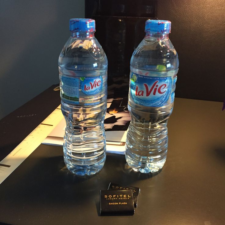 Complimentary water & chocolate