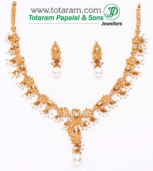 34 Grams Unique Diamond Set: Best 25+ Indian Gold Necklace Ideas On Pinterest
