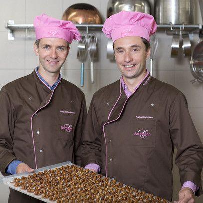 Matthias und Raphael Bachmann Confiserie Luzern Gebrüder