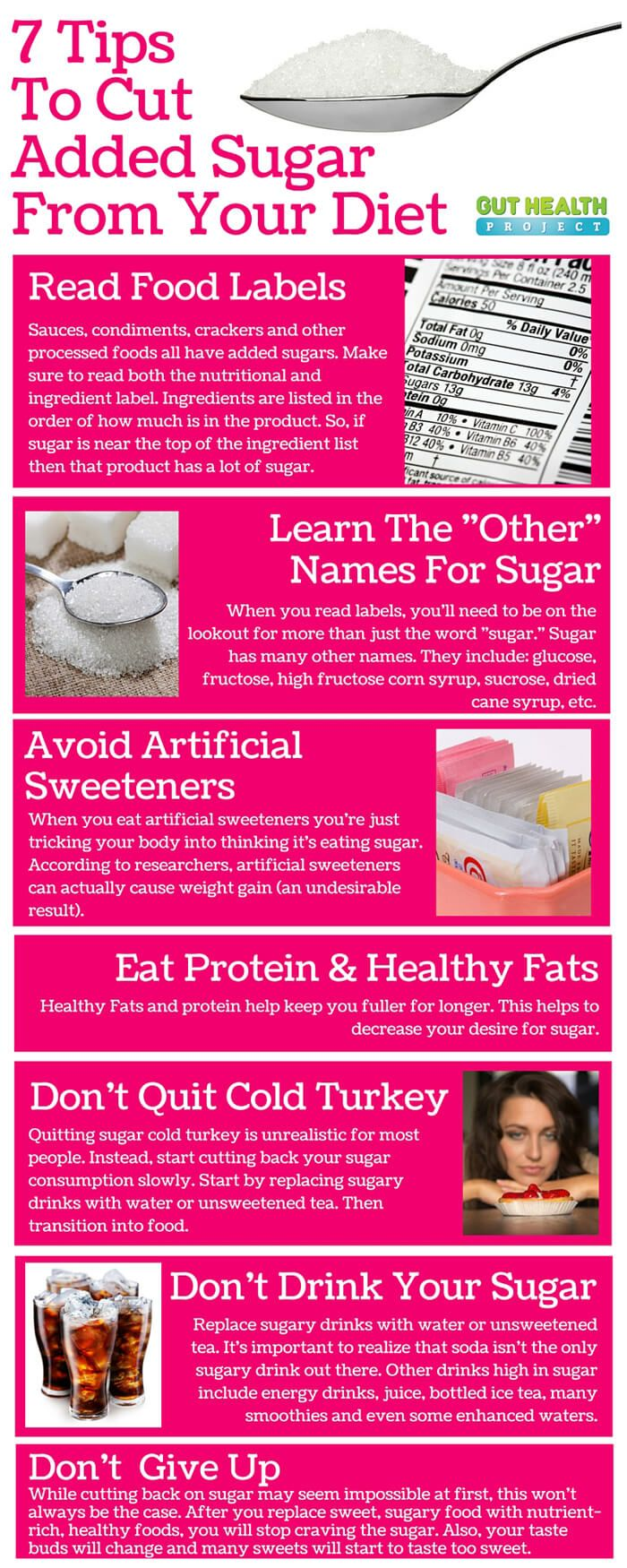 7 Tips for Cutting Out Refined Sugar