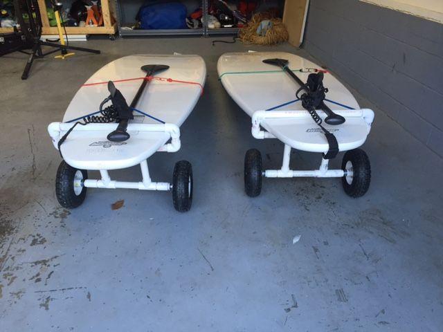 1 Quot Pvc Diy Standup Paddleboard Cart Diy Standup