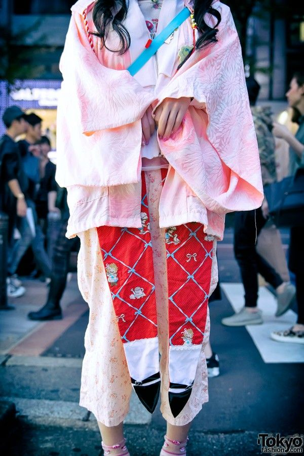 Kawaii Kimono in Harajuku