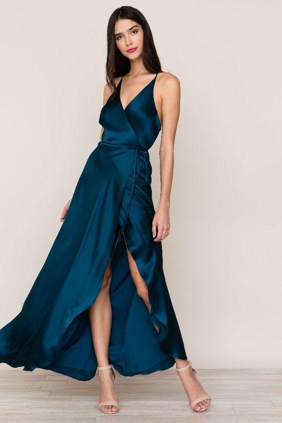 """""""Vestidos Elegantes Largos"""" ~~Rosario Contreras~~"""