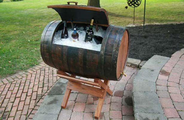 17 Diy Useful And Smart Ideas How To Repurpose Wine Barrels Wine Barrel Furniture Barrel Furniture Recycled Wine Barrels