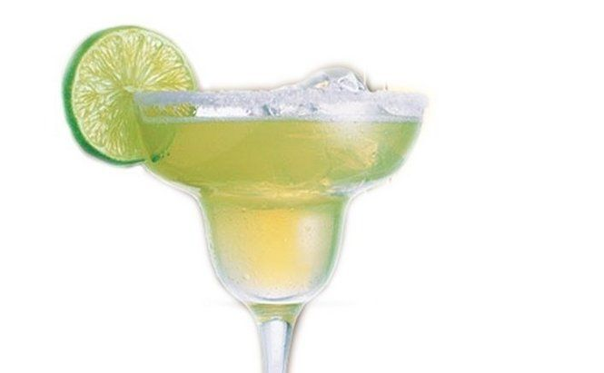 How about a toast to tequila on its national day of recognition with a classic margarita on the rocks.