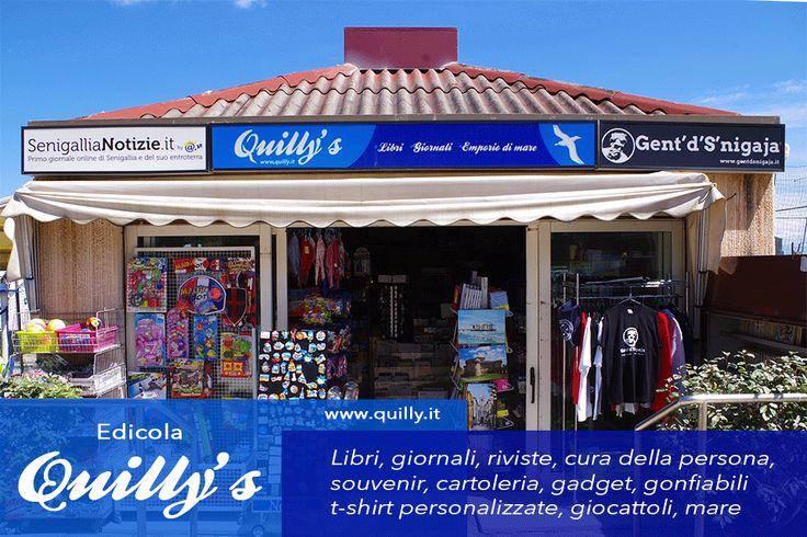 Senigallia - Edicola Quilly's (Esterno)