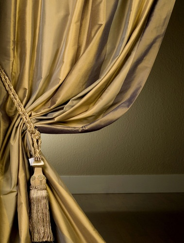 El Dorado Designer Silk Taffeta Stripe Curtains Amp Drapes