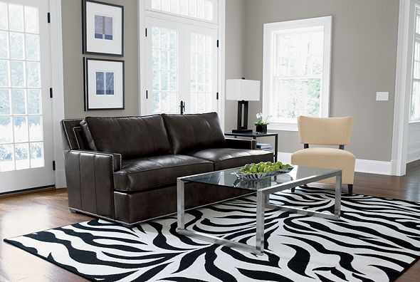 zebra rugs...
