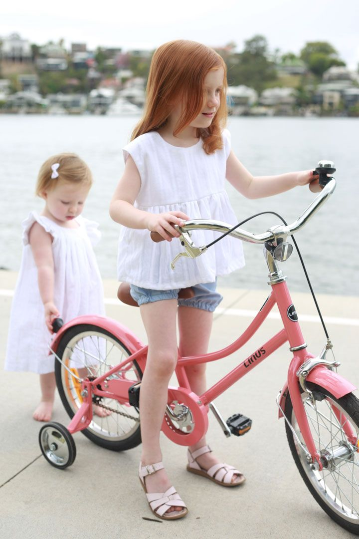 Chambray Shorties with Isla Blouse and Baby wears our Amelie dress.  #handmade