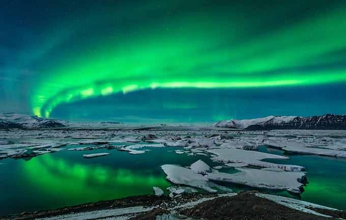 Endroits où découvrir des aurores boérales                                                                                                                                                                                 Plus