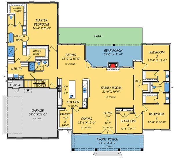 87 Best Custom Home Plans Images On Pinterest Dream