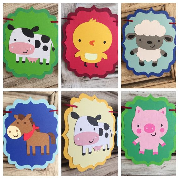 M s de 1000 ideas sobre cumplea os de animales de granja - Manteles de cumpleanos infantiles ...