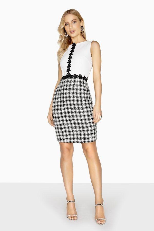 3603546d52 Outlet Paper Dolls Bourges Daisy Trim Boucle Dress | Fashion | Paper ...