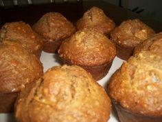 Muffins santé aux carottes, pommes, dattes, noix, orange et gingembre à la Ju&Jas