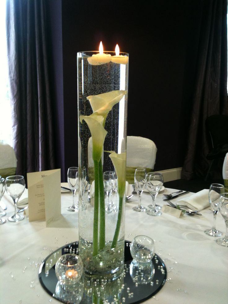 Glass Cylinder With Flowers Google Search Flower