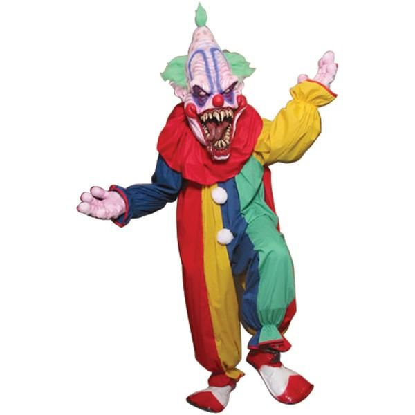 Multi colored cotton clown suit. Add your own clown mask hands and shoes to complete the look. One size fits most.Box Dimensions (in Inches)Length : 20.00Width