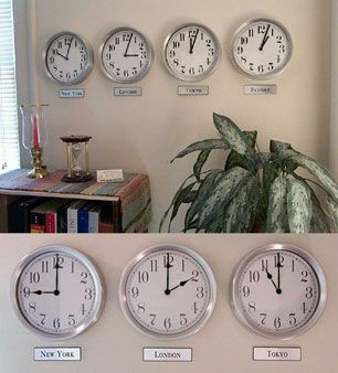 16 Best James Time Zone Clocks Images On Pinterest